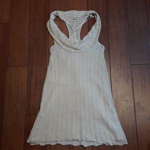 Free people shimmer knit scoop neck dress sz S